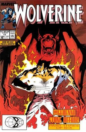 WOLVERINE (1988 1ST SERIES) #13
