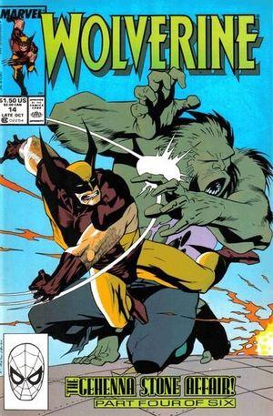 WOLVERINE (1988 1ST SERIES) #14