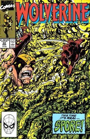 WOLVERINE (1988 1ST SERIES) #22