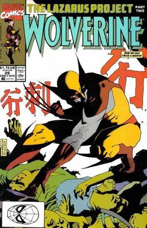 WOLVERINE (1988 1ST SERIES) #28