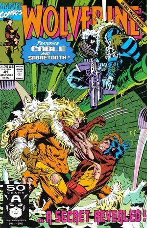 WOLVERINE (1988 1ST SERIES) #41