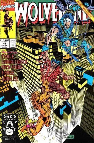 WOLVERINE (1988 1ST SERIES) #42