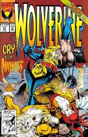 WOLVERINE (1988 1ST SERIES) #51