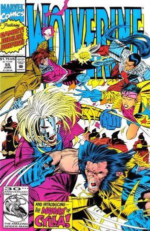WOLVERINE (1988 1ST SERIES) #55