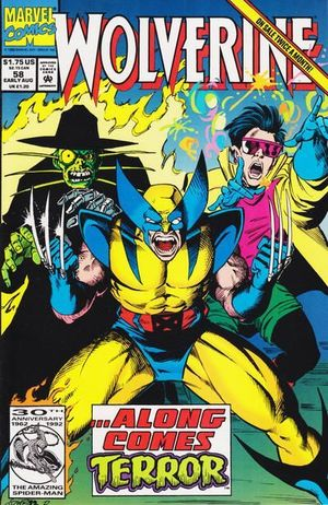 WOLVERINE (1988 1ST SERIES) #58