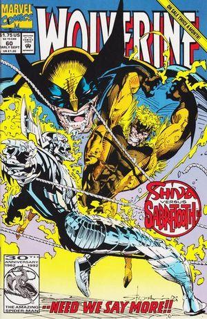WOLVERINE (1988 1ST SERIES) #60