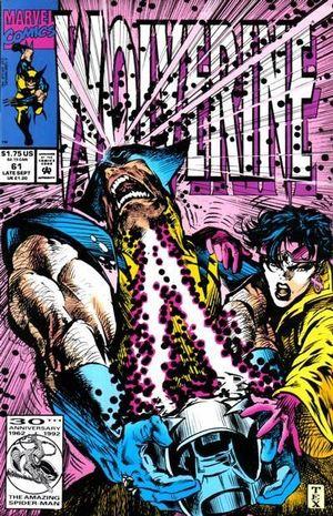 WOLVERINE (1988 1ST SERIES) #61