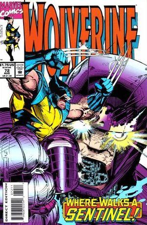 WOLVERINE (1988 1ST SERIES) #72