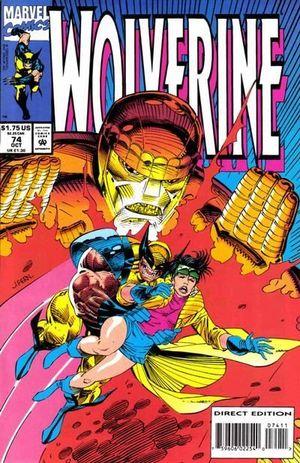 WOLVERINE (1988 1ST SERIES) #74