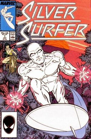SILVER SURFER (1987 2ND SERIES) #7