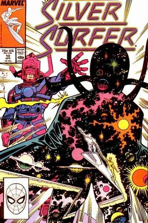 SILVER SURFER (1987 2ND SERIES) #10
