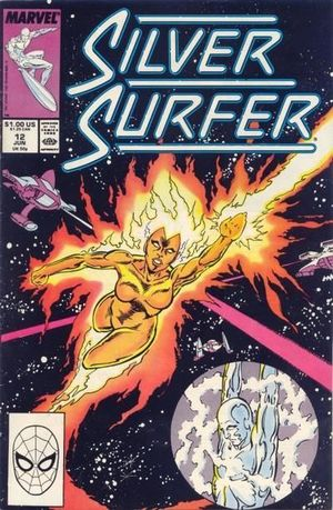 SILVER SURFER (1987 2ND SERIES) #12