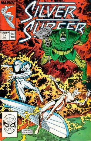 SILVER SURFER (1987 2ND SERIES) #13