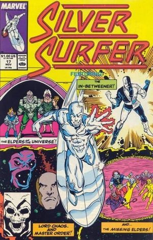 SILVER SURFER (1987 2ND SERIES) #17
