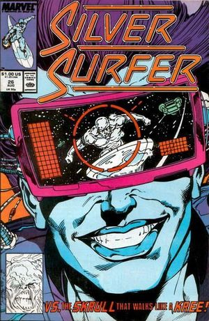 SILVER SURFER (1987 2ND SERIES) #26