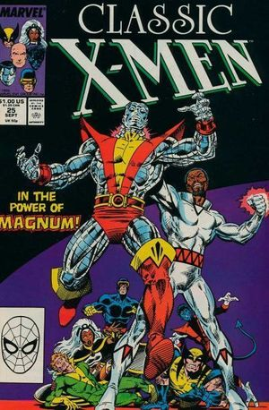 X-MEN CLASSIC (1986 CLASSIC X-MEN) #25
