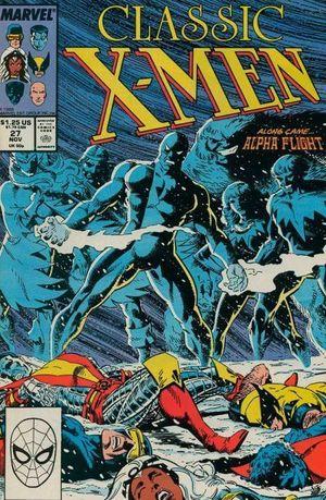 X-MEN CLASSIC (1986 CLASSIC X-MEN) #27
