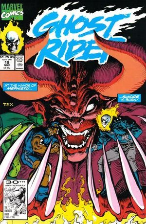 GHOST RIDER (1990 2ND SERIES) #19