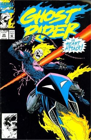 GHOST RIDER (1990 2ND SERIES) #35