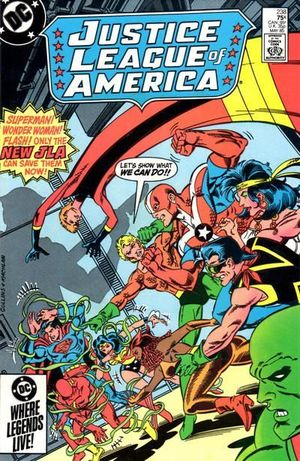 JUSTICE LEAGUE OF AMERICA (1960 1ST SERIES) #238