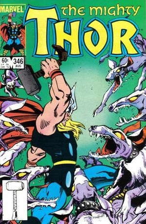 THOR (1962-1996 1ST SERIES JOURNEY INTO MYSTERY) #346