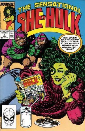 SENSATIONAL SHE-HULK (1989) #2
