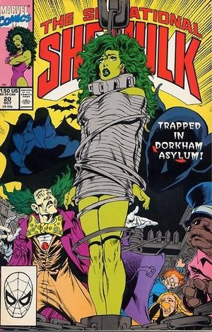 SENSATIONAL SHE-HULK (1989) #20
