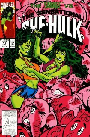 SENSATIONAL SHE-HULK (1989) #51