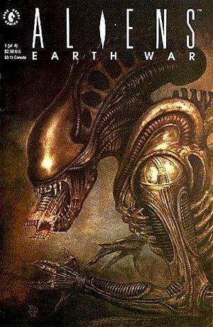 ALIENS EARTH WAR (1990) #1-4