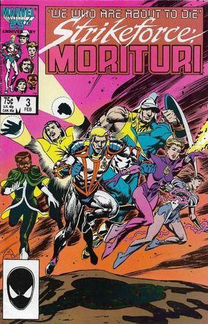 STRIKEFORCE MORITURI (1986) #3