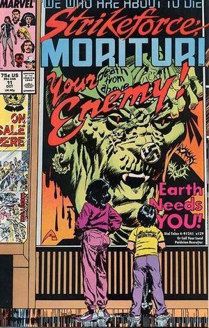 STRIKEFORCE MORITURI (1986) #11