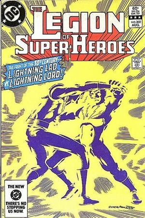 LEGION OF SUPER-HEROES (1980 2ND SERIES) #302