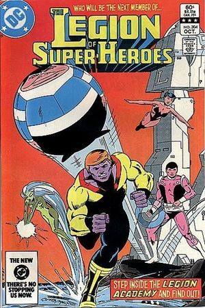 LEGION OF SUPER-HEROES (1980 2ND SERIES) #304
