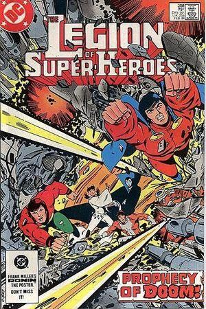 LEGION OF SUPER-HEROES (1980 2ND SERIES) #308