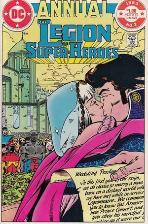 LEGION OF SUPER-HEROES ANNUAL (1980 2ND SERIES) #2