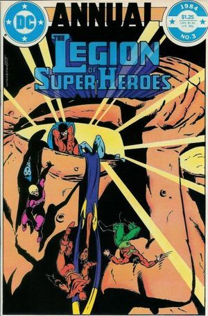 LEGION OF SUPER-HEROES ANNUAL (1980 2ND SERIES) #3