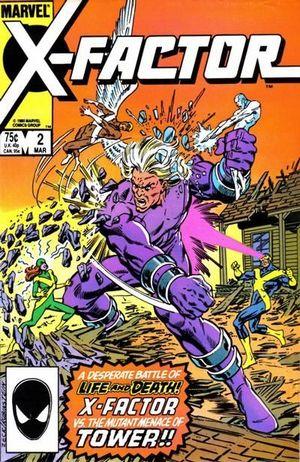 X-FACTOR (1986 1ST SERIES) #2