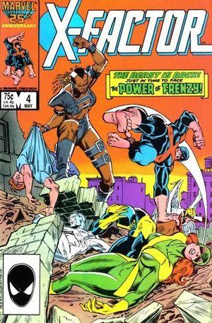 X-FACTOR (1986 1ST SERIES) #4