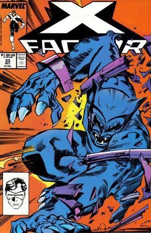 X-FACTOR (1986 1ST SERIES) #33