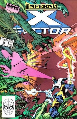 X-FACTOR (1986 1ST SERIES) #36