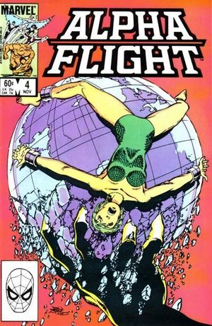ALPHA FLIGHT (1983 1ST SERIES) #4