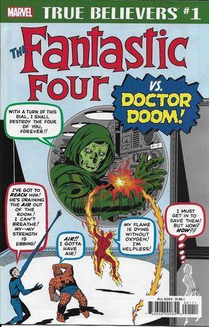 TRUE BELIEVERS FANTASTIC FOUR VS. DOCTOR DOOM (201 #1