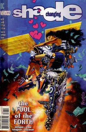 SHADE THE CHANGING MAN (1990 2ND SERIES) #67