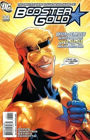 BOOSTER GOLD (2007 2ND SERIES) #32
