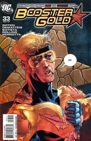BOOSTER GOLD (2007 2ND SERIES) #33