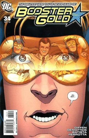 BOOSTER GOLD (2007 2ND SERIES) #34