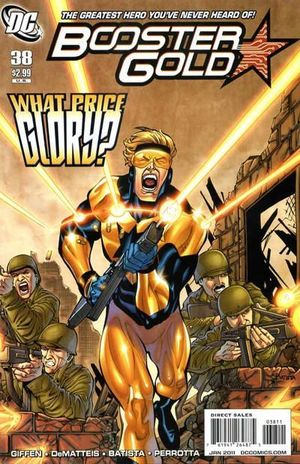 BOOSTER GOLD (2007 2ND SERIES) #38