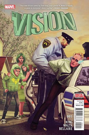 VISION (2015 3RD SERIES) #5