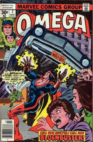 OMEGA THE UNKNOWN (1976) #7