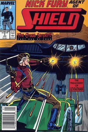 NICK FURY AGENT OF SHIELD (1989 3RD SERIES) #7